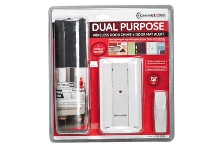 Red Shield Chime and Door Mat Alert for R399 Including Delivery (50% Off)