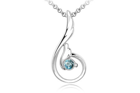 Crystal Phoenix Pendant and Necklace for R249, Including Delivery (50% Off)