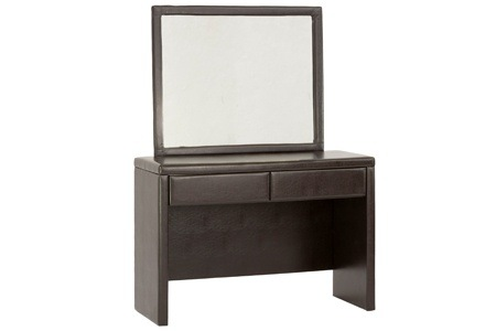 Leather Dressing Table and Mirror for R2999 Including delivery (25% Off)
