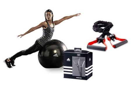 Adidas Gym Ball and Power Band for R439.99 Including Delivery (45% Off)