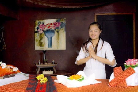 Meal with Fish Therapy and a Massage at Kai Thai