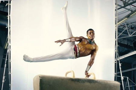 Entrance to the 12th African Gymnastics Championships