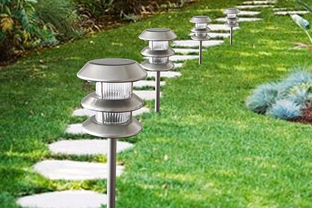 Set of Four Dual Solar Garden Lights for R339.99 Including Delivery (31% off)