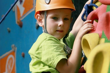 Climbing Session and Swings for up to Eight People at High Altitude Climbing