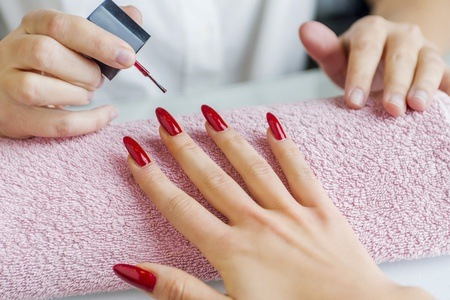 Mini Manicure and Pedicure with Gel Overlays at Exclusive Beauty