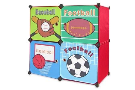 Four Door DIY Kids Cabinet for R599.99 Including Delivery (45% off)