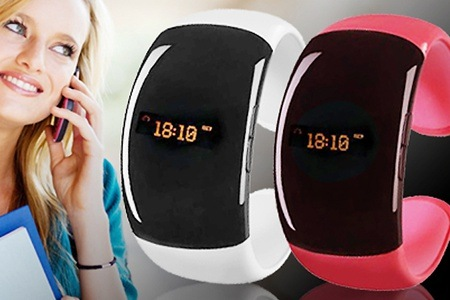 Pink Bluetooth-Enabled Vibrating Bracelet for R699 Including Delivery (50% Off)