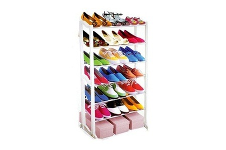 Seven-Tier Shoe Rack for R249.99 Including Delivery (38% off)