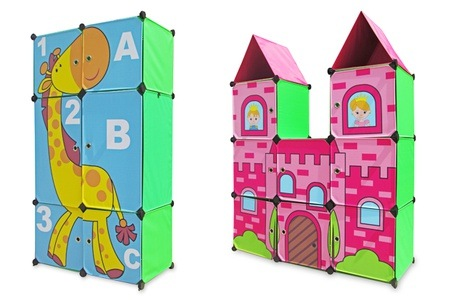 Giraffe and Castle Grid Cabinet from R899.99 Including Delivery (Up To 50% Off)