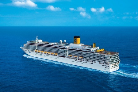 Luxury Cruise: Three-Night Spain and France Cruise for Two Aboard the Costa Luminosa