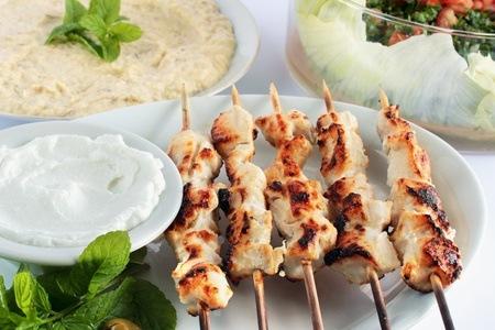 Greek Taste Sensation Platter at Babylon Again