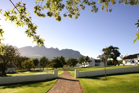 Cape Winelands: Accommodation for Two Including Breakfast and Wine Tasting at Webersburg Wine Estate