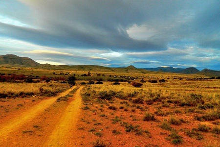 Graaff-Reinet: Accommodation For Up to Four in the Allendale Farm Cottage