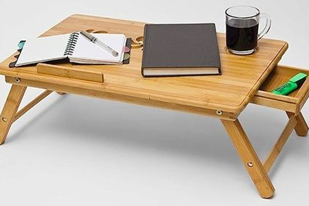 Fine Living Bamboo Laptop Table from R399.99 Including Delivery (46% Off)
