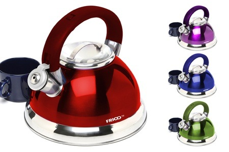 Frico Stainless Steel Whistling Kettle for R339.99 Including Delivery (32% off)