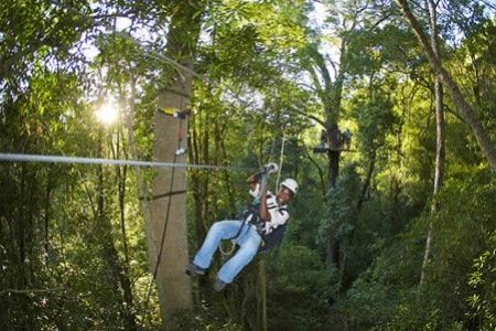 Tsitsikamma Canopy Tour Including Drinks and Meal with Stormsriver Adventures