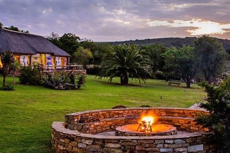 Eastern Cape: Accommodation For Two at Addo Ndebele Palace Bush Lodge