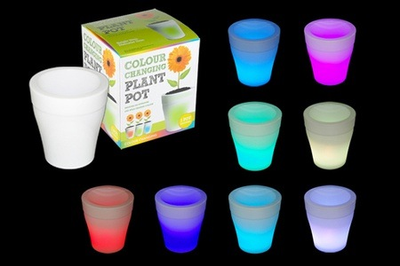 Colour Changing Plant Pots for R449 Including Delivery (50% off)