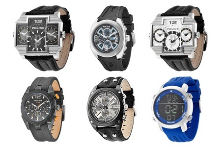 Police Watches from R999 Including Delivery (Up to 38% Off)
