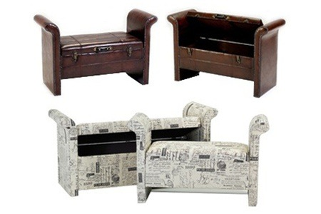 Small or Large Cielo Storage Benches from R1 095 Including Delivery (Up to 57% off)