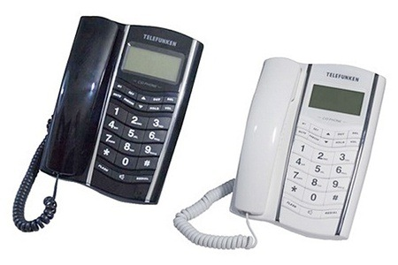 Telefunken Corded Handset from R229 Including Delivery (Up to 43% off)