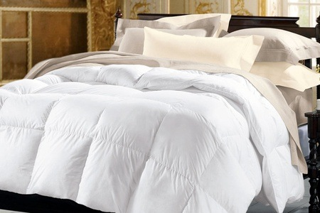 10.5 Tog Goose Feather Down Duvets from R995 Including Delivery (Up to 35% off)