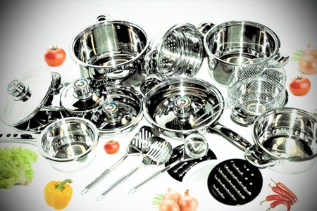 16 or 21-Piece Mafy Pot Set from R1 199.99 Including Delivery (Up to 50% Off)