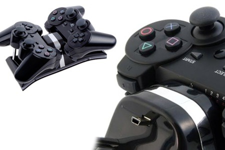 Dual Charging Station for Sony PS3 Controller for R149 Including Delivery (40% off)