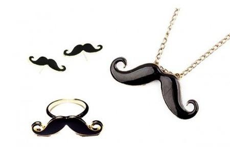 Retro Moustache Tri Set for R419.99 Including Delivery (66% off)