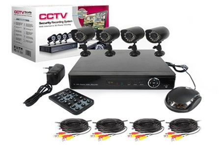 Four or Eight-Channel CCTV Kit from R1 999 including Delivery (Up to 46% off)
