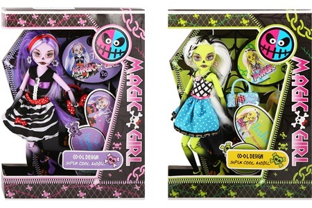 Magic Girl Dolls for R199 Including Delivery (50% Off)