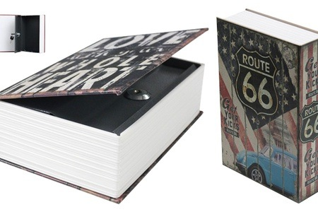 Medium and Large Book Safes for R349.99 Including Delivery (50% Off)