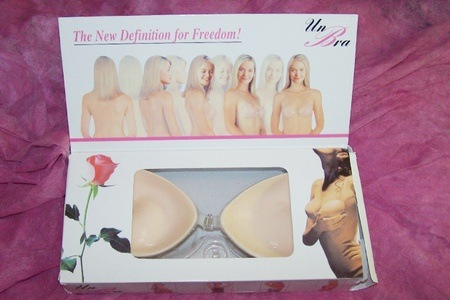 Set of Two Silicone, Self-Adhesive Bras for R215 Including Delivery (46% Off)