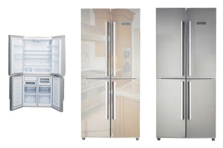 Sunbeam 495 Litre Four-Door Refrigerator With Brushed Finish for R 8 999 Including Delivery (31% Off)