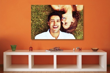 A0 to A5 and Three 300x300 Canvas Prints from Mojo Printing