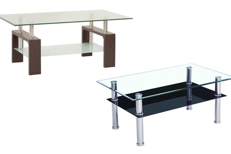 Glass Topped Coffee Tables from R799.99 Including Delivery (Up to 50% Off)