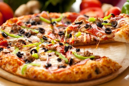 Any Pizza or Pasta with a Drink at Flyboys