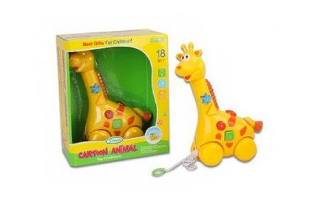 Giraffe Toy With Lights and Music For R176 Including Delivery (50% Off)