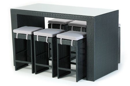 Fabian Six Seater Patio Cocktail Set for R8 995 Including Delivery (40% Off)