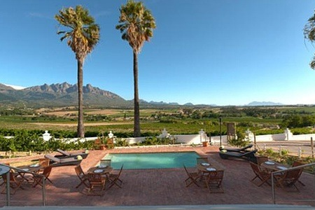 Cape Winelands: Stay for Two at Val Du Charron Wine and Olive Estate and Guesthouse