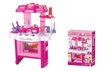 Red Kitchen Pretend Play Set for R349 Including Delivery (50% Off)