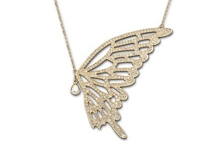 Butterfly Inspired Necklace Made With Swarovski Elements for R199.99 Including Delivery (50% Off)