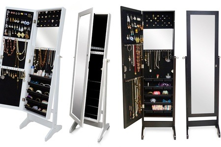 3-in-1 Full Length Mirrored Jewellery Cabinet for R1 495 Including Delivery (50% Off)