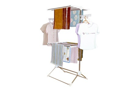 Expandable Double Layer Clothes Rack for R599.99 Including Delivery (33% Off)