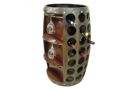 Small or Large Barrel Style Wine Rack from R995 Including Delivery (Up to 47% Off)