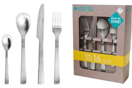Soho 16-Piece Cutlery Set for R300 Including Delivery (40% Off)