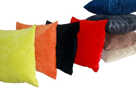 Two El Camino Suede Scatter Cushions for R289.99 Including Delivery (42% Off)