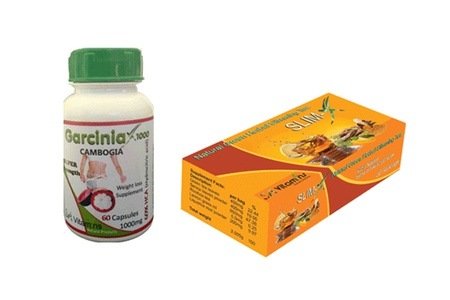 Garcinia Cambogia Capsules and Slim-X Slimming Tea for R249 Including Delivery (58% Off)