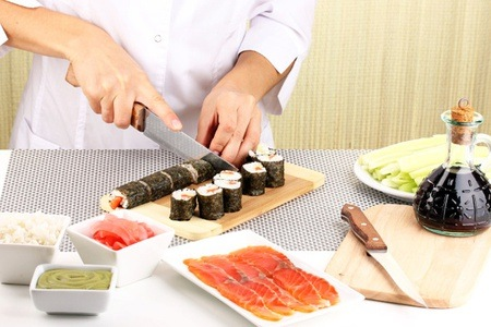 Sushi Making Class for R350 at SA Culinary Club (50% Off)