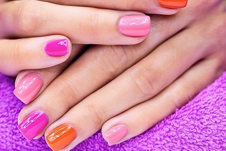 Deluxe Manicure And Pedicure with Gel Overlays From R176 at Unique Nails Studio (Up To 70% Off )